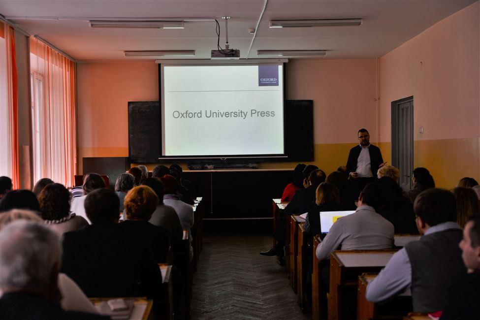Cеминар издательства Oxford University Press прошел в БГТУ
