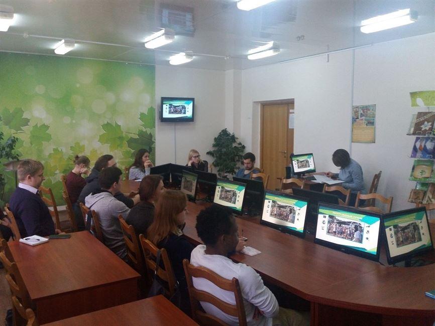 Природа - наш дом: на базе Республиканского центра экологии и краеведения проведены семинарские занятия с магистрами БГТУ
